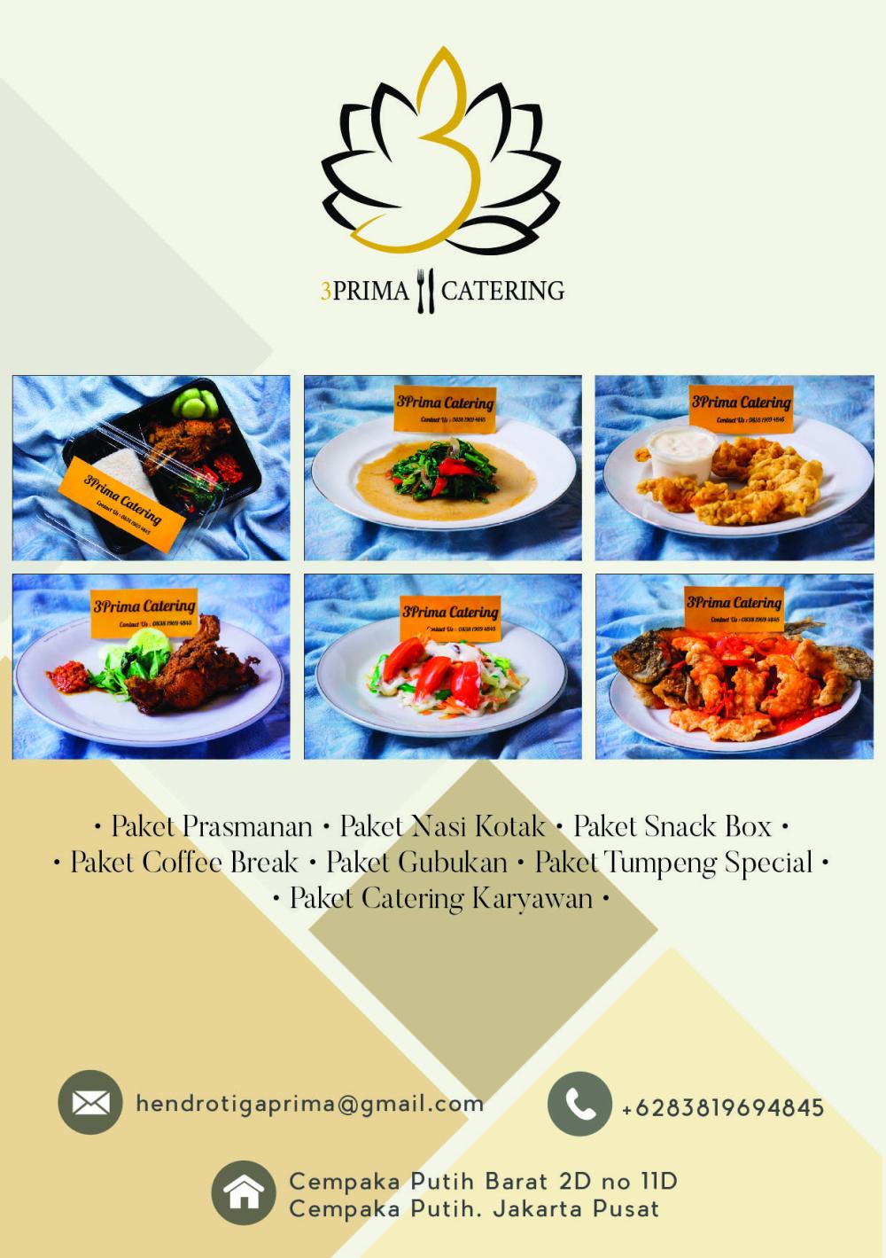 3 prima catering katering pernikahan