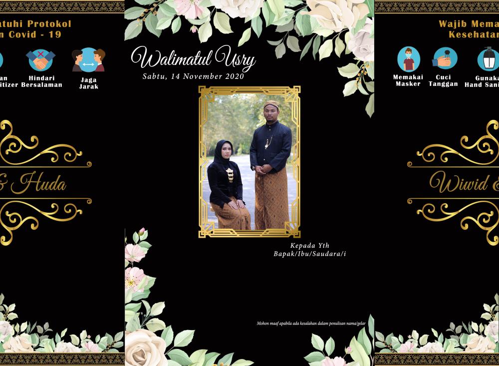 abuz miikochan undangan pernikahan