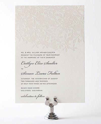 Contoh desain undangan pernikahan simple
