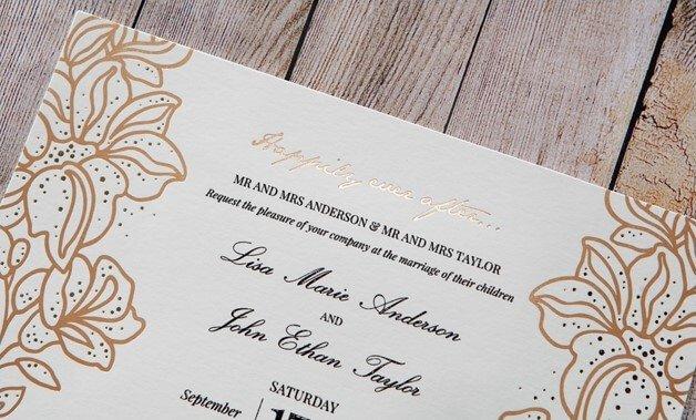 Contoh Undangan Pernikahan Formal
