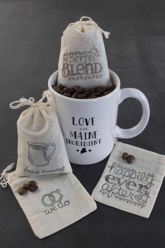 Souvenir pernikahan kopi