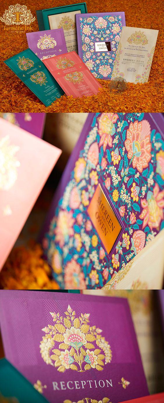 Undangan mewah colorful