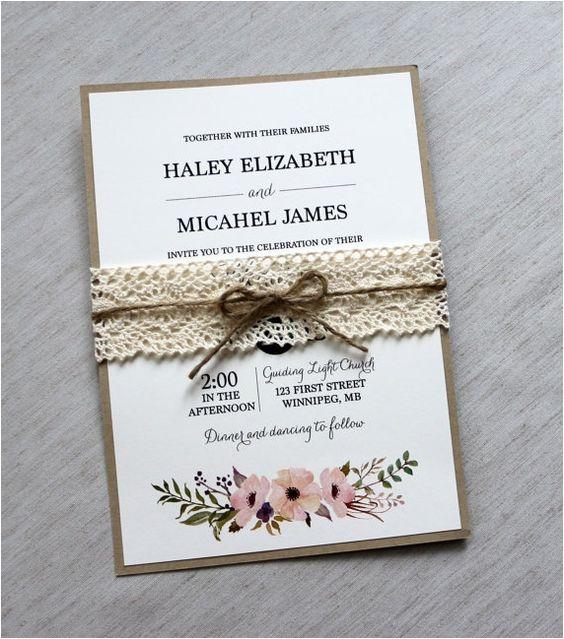 Undangan pernikahan terbaru pake pita tali