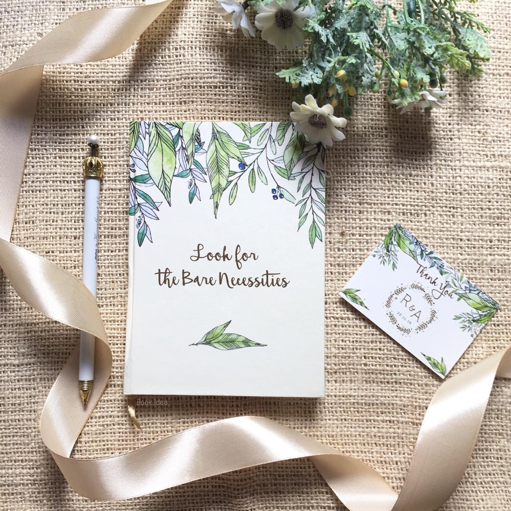 Undangan simple dan elegan tema buku