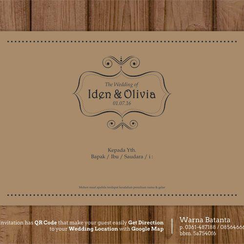 batanta card undangan pernikahan