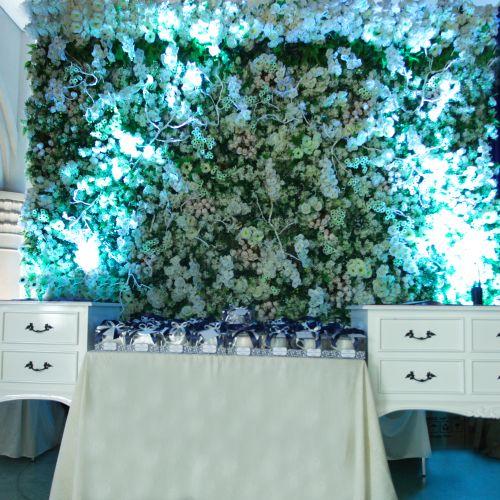 bleubell flowers decoration dekorasi lighting pernikahan