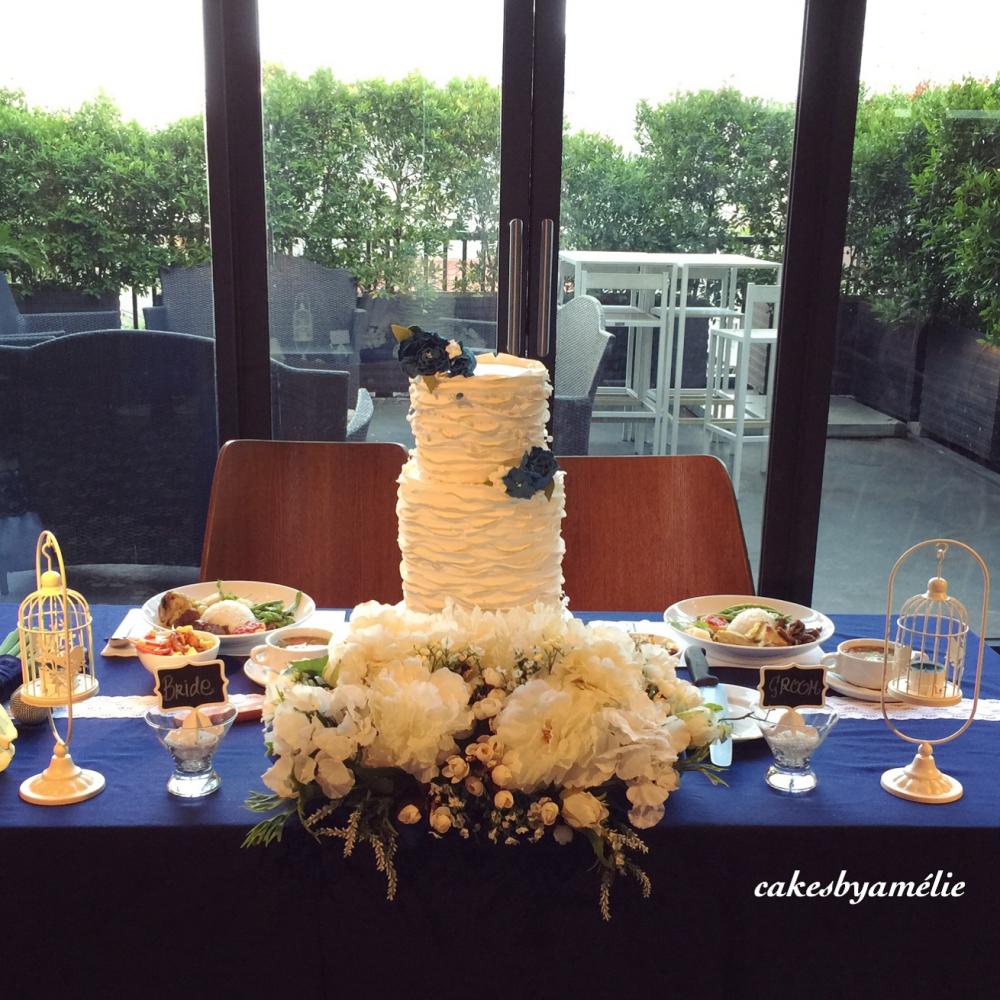 cakes by am lie kue pernikahan