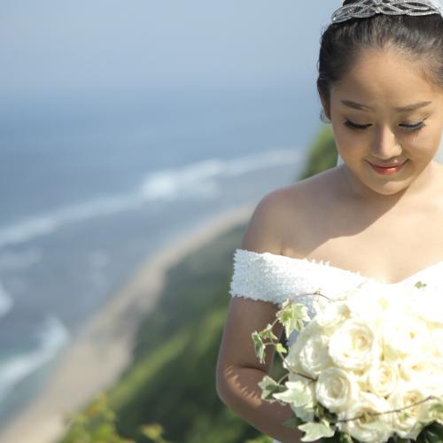 charloitte sunny rias rambut makeup pernikahan