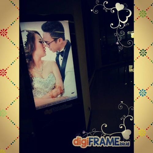 digiframe jasa persewaan pernikahan