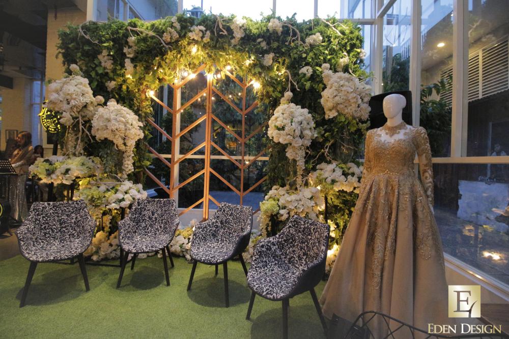 eden design dekorasi lighting pernikahan