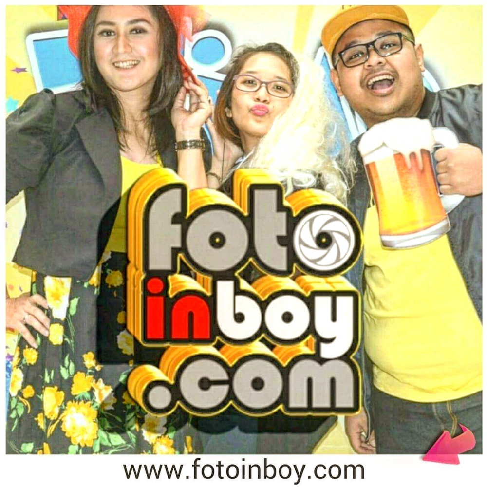 fotoinboy photo booth pernikahan