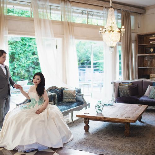 jessica tjiptoning gaun busana pernikahan