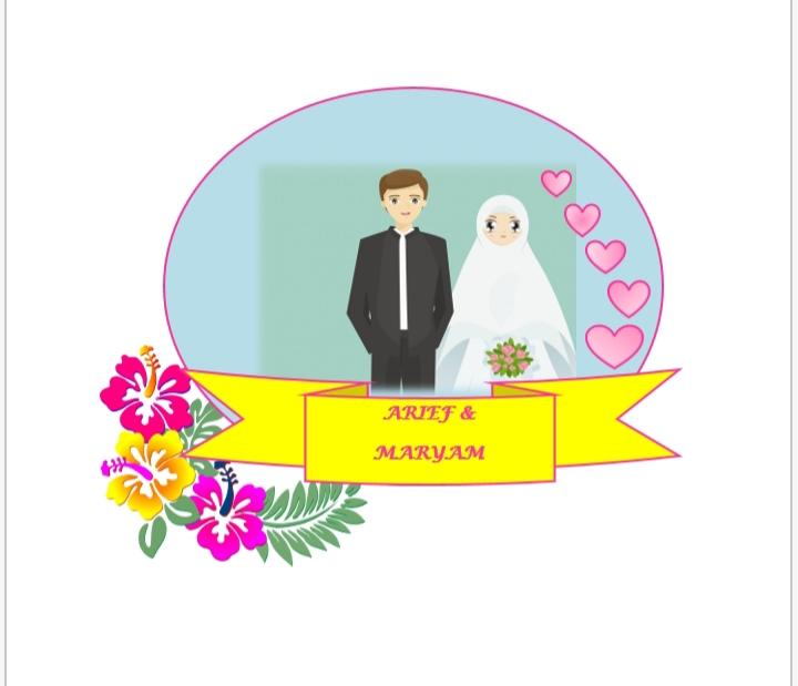 buat kartu undangan pernikahan