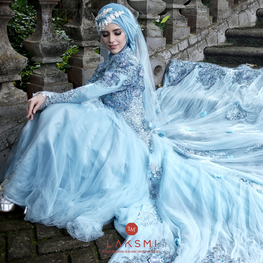 laksmi kebaya muslimah islamic wedding service gaun busana pernikahan