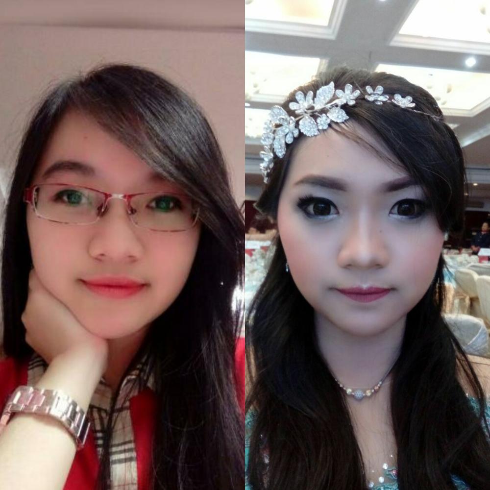 lieya lay make up artist rias rambut makeup pernikahan