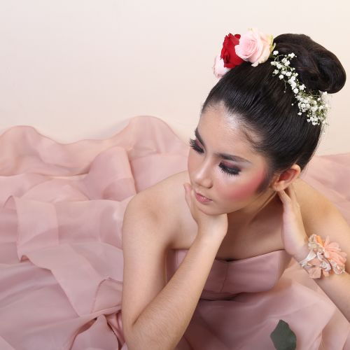 lisa thalia makeup artist rias rambut makeup pernikahan