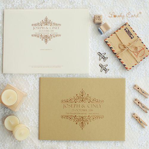 lovely card undangan pernikahan