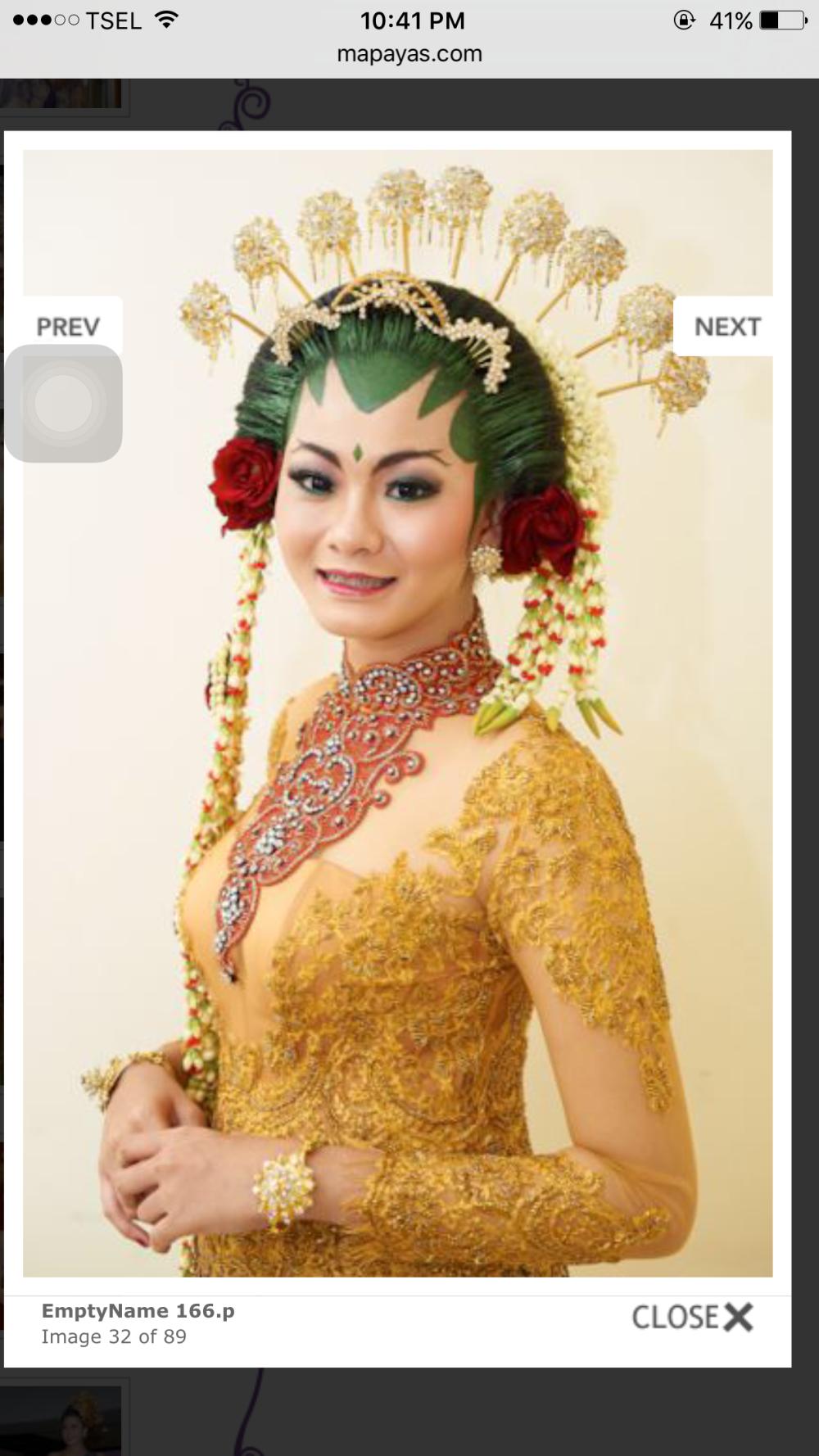 mapayas salon and rias pengantin bali rias rambut makeup pernikahan