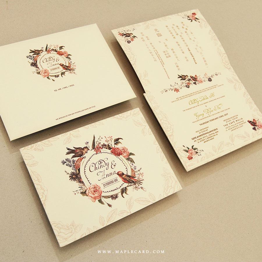 maple card undangan pernikahan