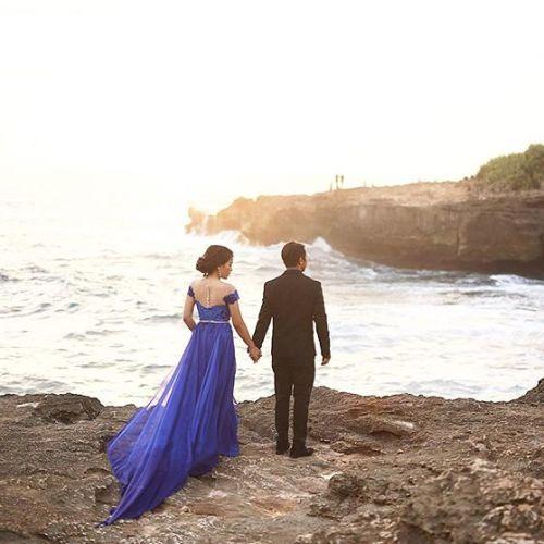 monica nathalia gaun busana pernikahan