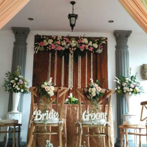 rangkai dekor dekorasi & lighting pernikahan