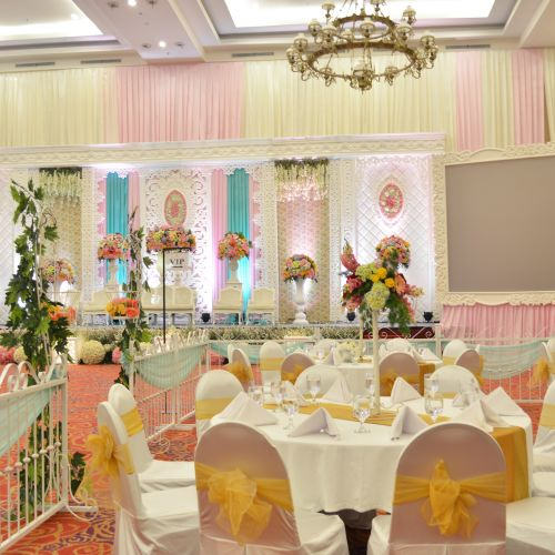 royal ballroom the springs club gedung pernikahan