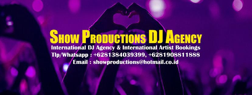 show productions dj agency hiburan dj pernikahan