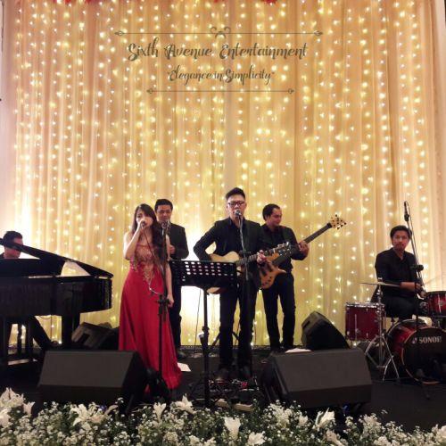 sixth avenue entertainment hiburan musik pernikahan