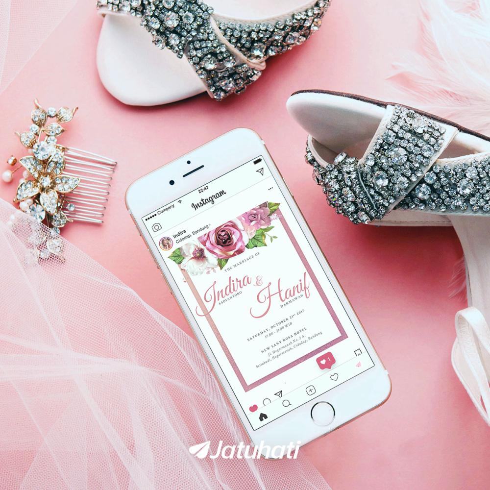 undangan jatuhati undangan pernikahan