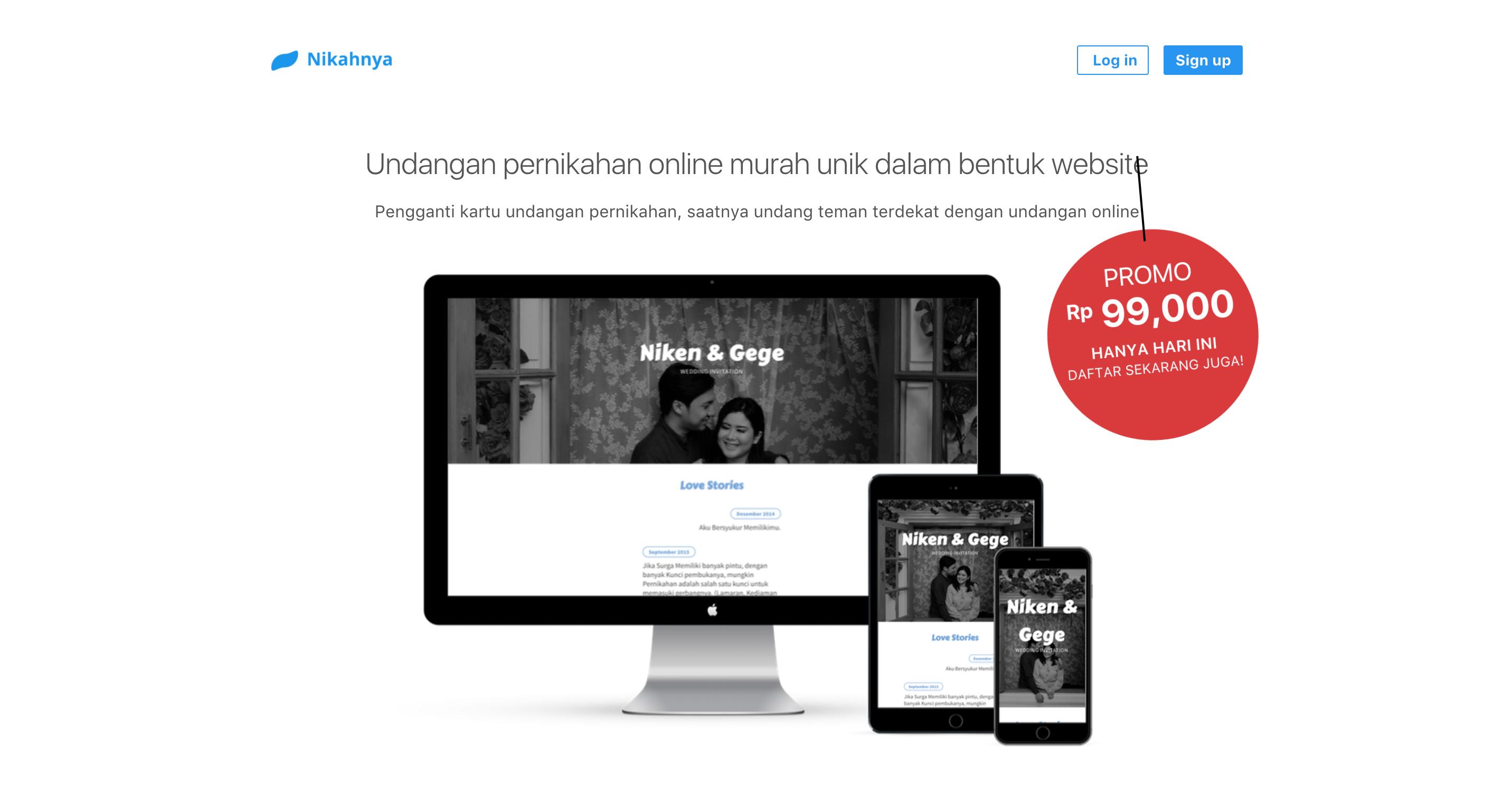 Undangan Online Nikahnya