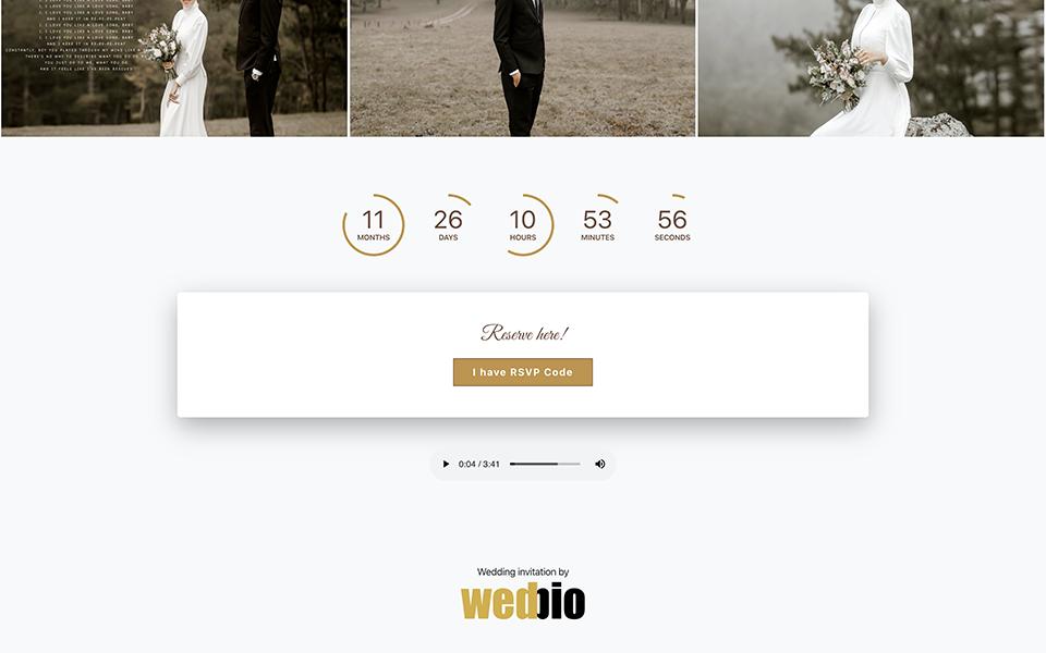 wedbio undangan pernikahan