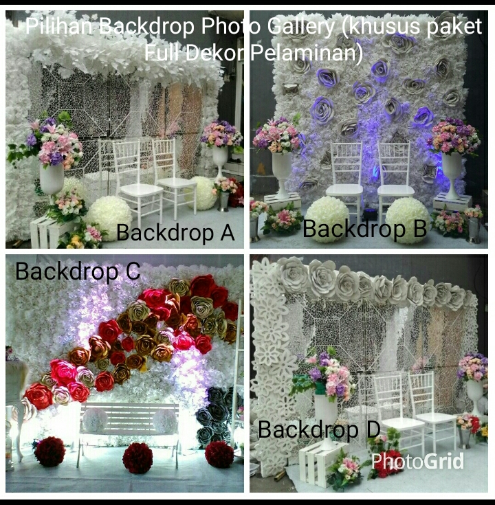 wilhelmina wedding dekorasi lighting pernikahan