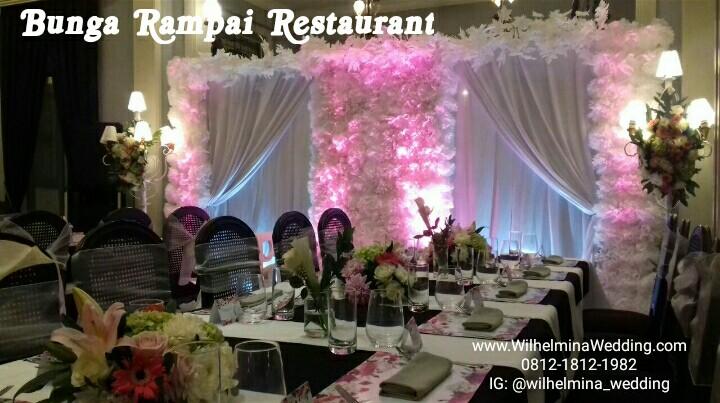 wilhelmina wedding dekorasi lighting pernikahan