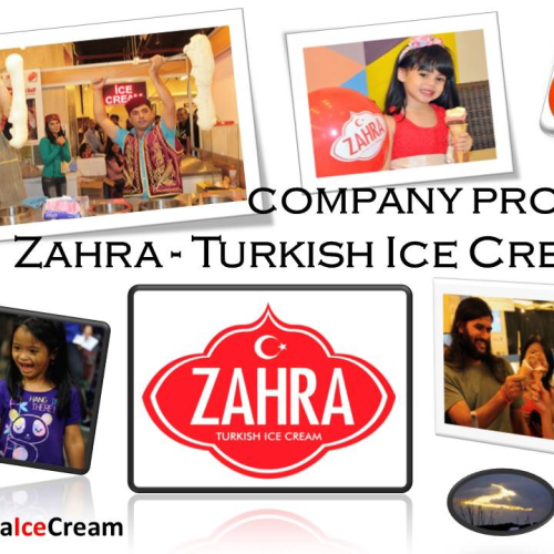 zahra turkish ice cream katering pernikahan